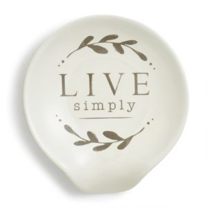 LIVE SIMPLY SPOON REST
