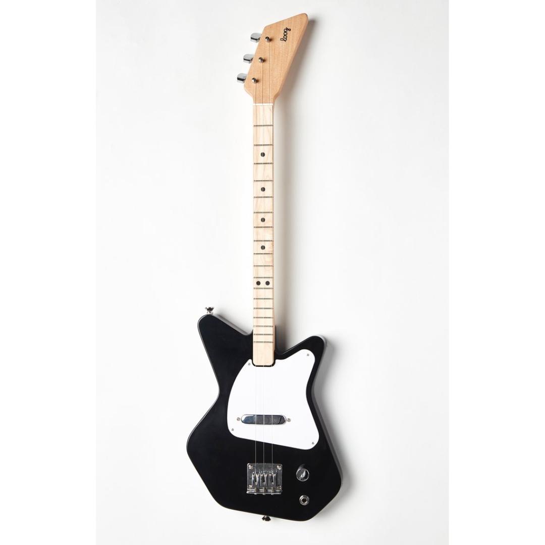 loog black pro electric guitar magpies gifts. Black Bedroom Furniture Sets. Home Design Ideas