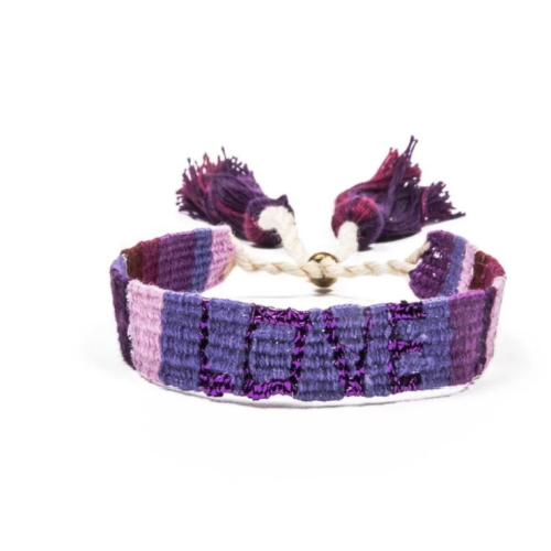 LOVE IS PROJECT PURPLE ATITLAN LOVE BRACELET