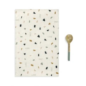 LOVE KITCHEN TOWEL AND UTENSIL SET