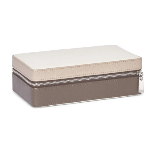 MADISON TRAVEL JEWELRY CASE - TAUPE