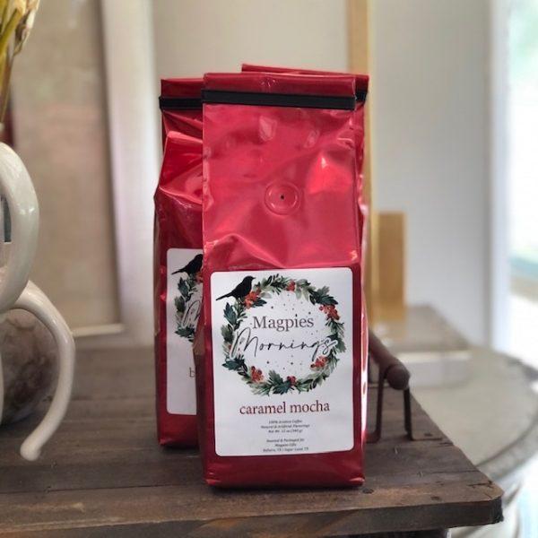 MAGPIES MORNINGS CARAMEL MOCHA COFFEE