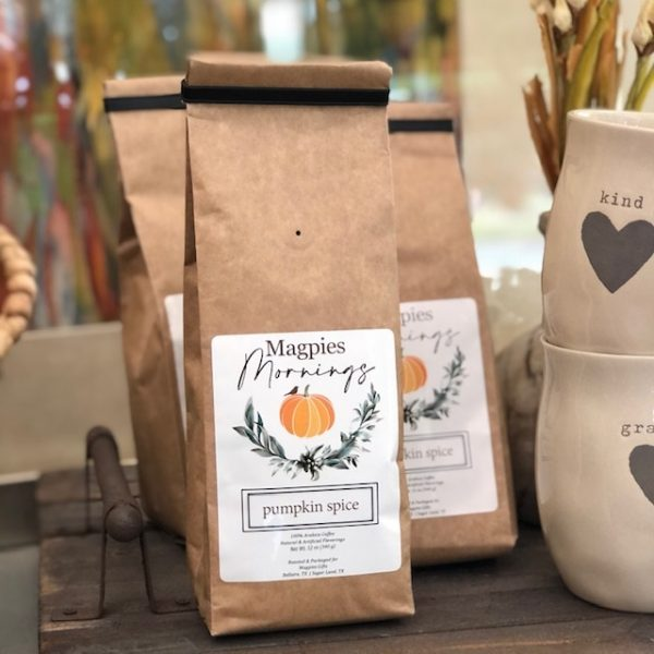 MAGPIES MORNINGS PUMPKIN SPICE BLEND COFFEE
