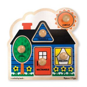 MELISSA AND DOUG FIRST SHAPES JUMBO KNOB