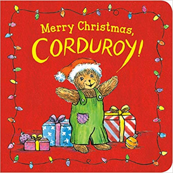 MERRY CHRISTMAS CORDUROY