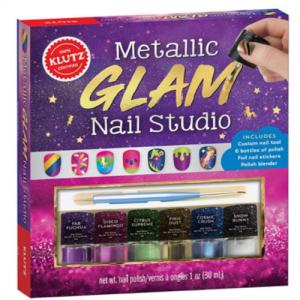 METALLIC GLAM NAIL STUDIO