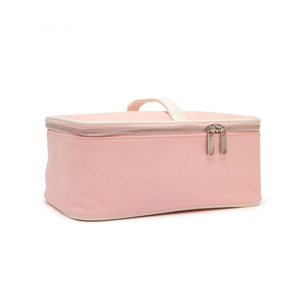 MIA 2-IN-1 COSMETIC CASE - PINK