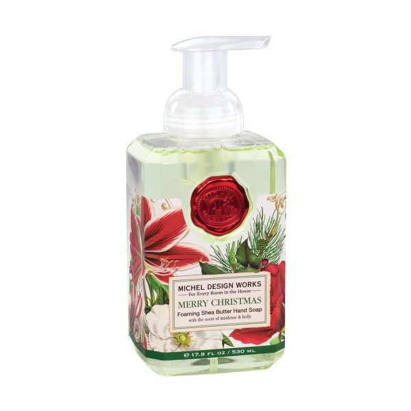 MICHEL DESIGN WORKS MERRY CHRISTMAS FOAMING HAND SOAP