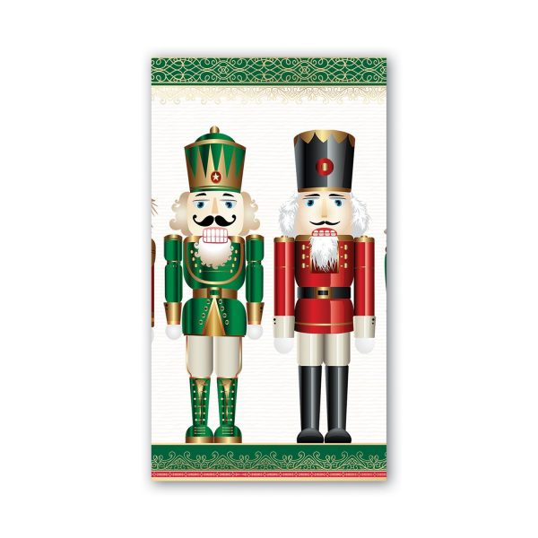 MICHEL DESIGN WORKS NUTCRACKER HOSTESS NAPKINS