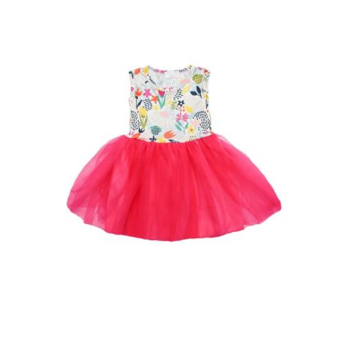 MILA & ROSE FLOWER MARKET TUTU TANK DRESS