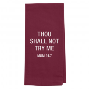 MOM 24:7 TEA TOWEL