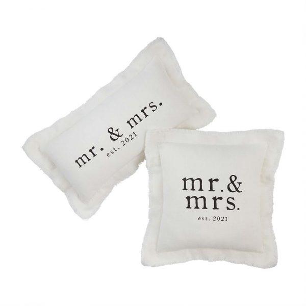 MR. & MRS. SQUARE PILLOW