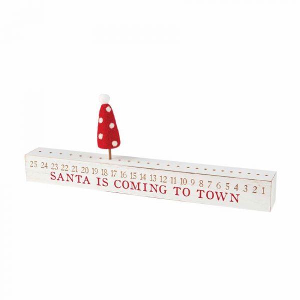 MUDPIE CHRISTMAS COUNTDOWN STICK