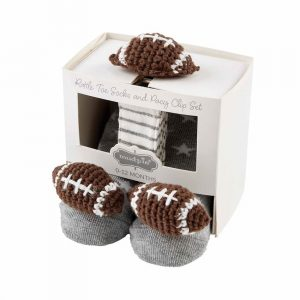 MUDPIE FOOTBALL PACY CLIP SOCK SET
