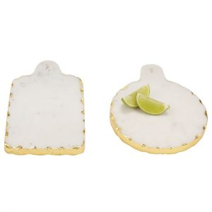 MUDPIE GOLD MARBLE SMALL BOARDS