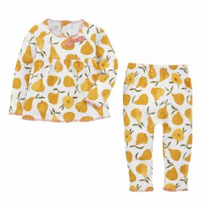 MUDPIE PEAR TWO PIECE SET