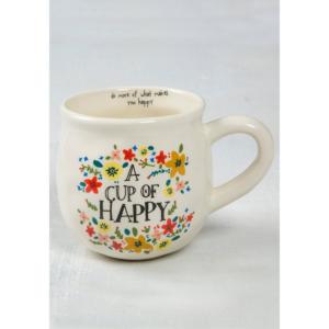 NATURAL LIFE A CUP OF HAPPY MUG