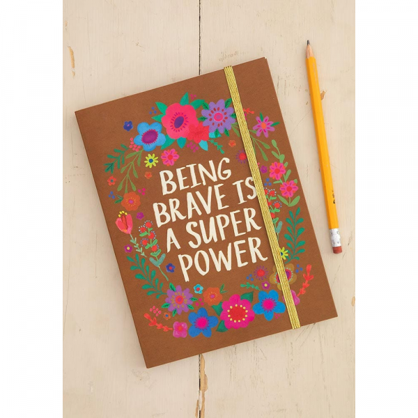 NATURAL LIFE BEING BRAVE IS SUPER JOURNAL