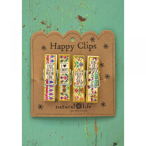 NATURAL LIFE I LOVE CHIPS HAPPY CLIPS