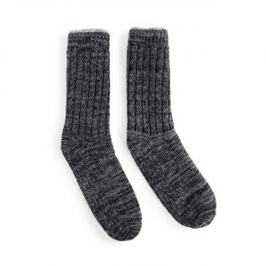 NAVY MEN'S SLIPPER SOCKS