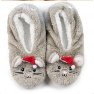 NIGHT BEFORE CHRISTMAS MOUSE FOOTSIE