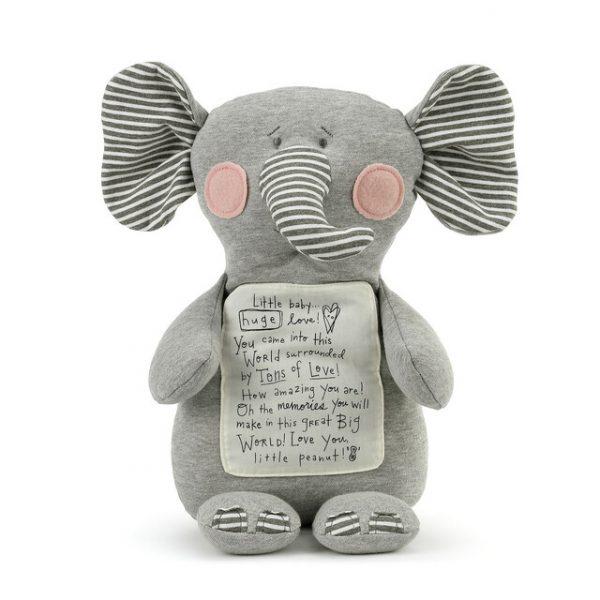 NOAH'S ARK TONS OF LOVE ELEPHANT