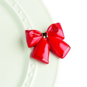 NORA FLEMING MINI WRAP IT UP RED BOW