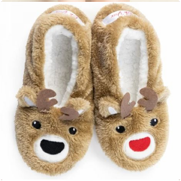 OH DEER CHRISTMAS FOOTSIE