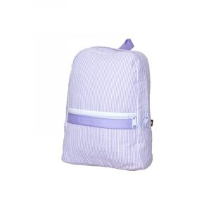 OH MINT LILAC SEERSUCKER SMALL BACKPACK