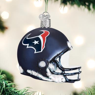 OLD WORLD CHRISTMAS HOUSTON TEXANS HELMET