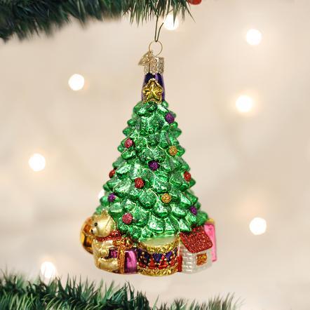 OLD WORLD CHRISTMAS MORNING TREE