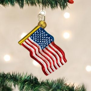 OLD WORLD CHRISTMAS STAR SPANGLED BANNER