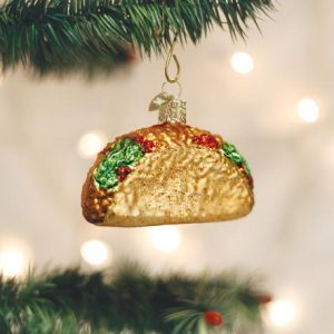 OLD WORLD CHRISTMAS TACO ORNAMENT