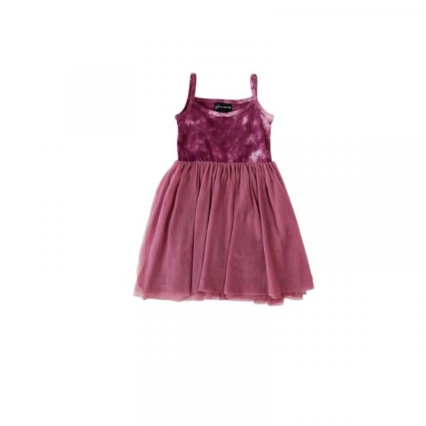 PARKER DRESS IN DUSTY ROSE