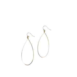 PATTY CLARKE DESIGNS GOLD FILL HOOP EARRING
