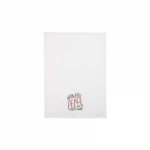 PEACE ON EARTH KITCHEN TOWEL