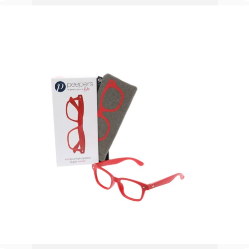 PEEPERS SIMPLY KIDS RED BLUE LIGHT BLOCKING GLASSES
