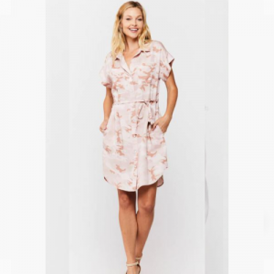 PINK CAMO ROSALEE DRESS
