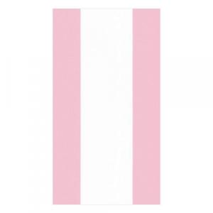 PINK STRIPE GUEST TOWEL