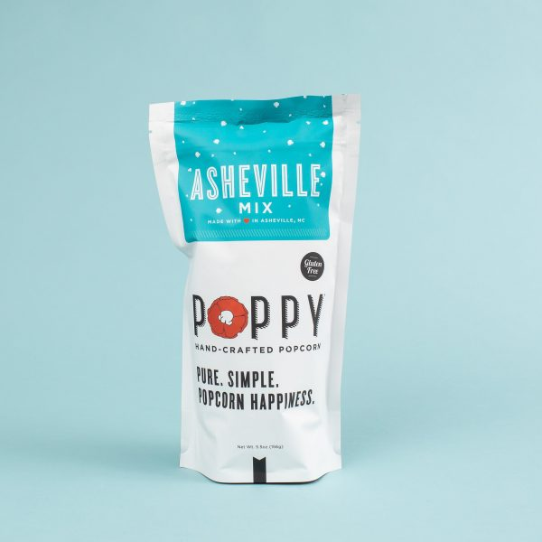 POPPY ASHEVILLE MIX MARKET POPPY HAND-CRAFTED POPCORN