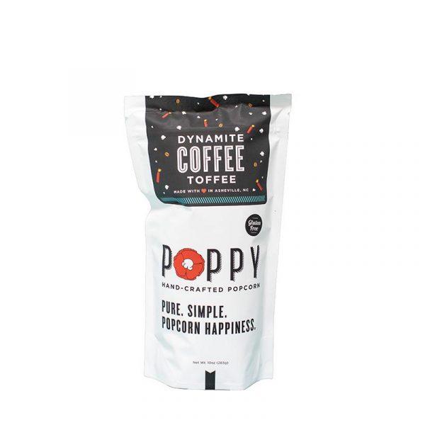 POPPY DYNAMITE COFFEE TOFFEE HAND-CRAFTED POPCORN