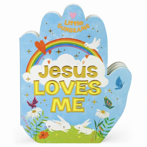 PRAYING HANDS JESUS LOVES ME BOOK