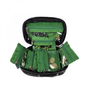PURSEN CAMO GETAWAY MINI JEWELRY CASE