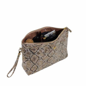 PURSEN PYTHON GETAWAY LITT LARGE MAKEUP CASE