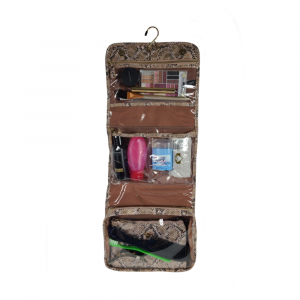 PURSEN PYTHON GETAWAY TOILETRY CASE