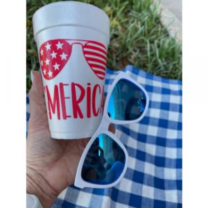 'MERICA STYROFOAM CUPS