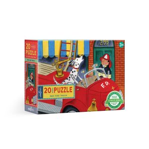 RED FIRE TRUCK 20 PIECE PUZZLE