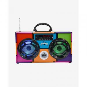 RETR0 90'S MINI BOOMBOX BLUETOOTH SPEAKER