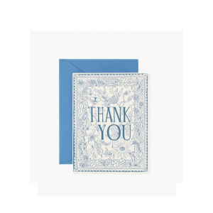 RIFLE PAPER DELFT THANK YOU BOXED SET CARDS