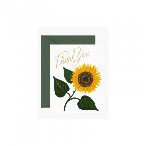 RIFLE PAPER SUNFLOWER THANK YOU BOXED SET